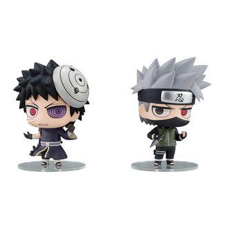 Figura Kakashi Hatake & Obito Uchiha Naruto Chimimega Buddy Series