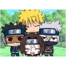 Kakashi Hatake & Obito Uchiha Figure Naruto Chimimega Buddy Series