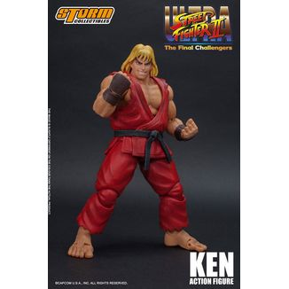Figura Ken Ultra Street Fighter II The Final Challengers