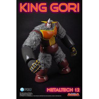 Figura King Gori UFO Robot Grendizer Diecast Metaltech 12