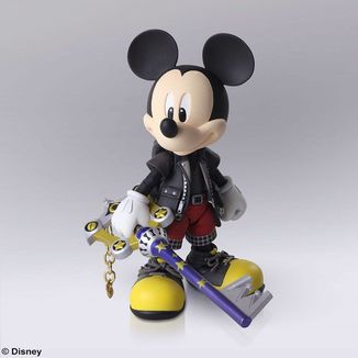 Figura King Mickey Kingdom Hearts III Bring Arts