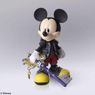 King Mickey Figure Kingdom Hearts III Bring Arts