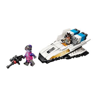 Figura LEGO Tracer vs Widowmaker Overwatch
