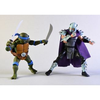 Leonardo vs Shredder Figure Teenage Mutant Ninja Turtles