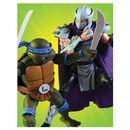 Figura Leonardo vs Shredder Teenage Mutant Ninja Turtles