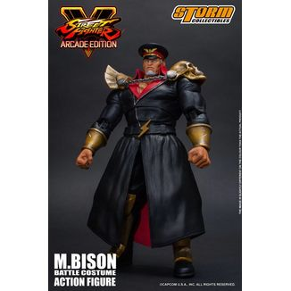 Figura M Bison Battle Costume Street Fighter V Arcade Edition