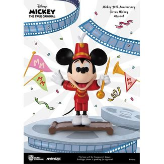 Mickey Circus Figure Mickey Mouse 90th Anniversary Mini Egg Attack