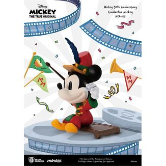 Mickey Conductor Figure Mickey Mouse 90th Anniversary Mini Egg Attack