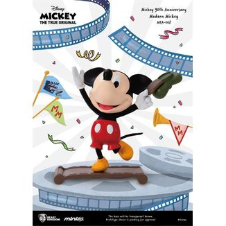 Mickey Modern Figure Mickey Mouse 90th Anniversary Mini Egg Attack