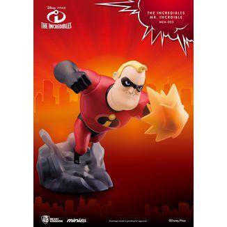 Figura Mr Incredible Los Increibles Mini Egg Attack