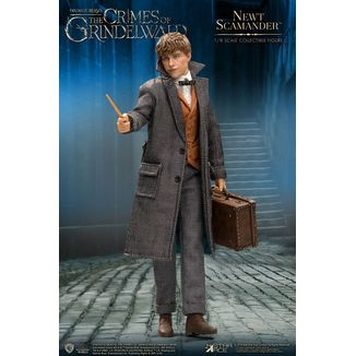 Newt Scamander Figure Fantastic Beasts 2 Real Master Series