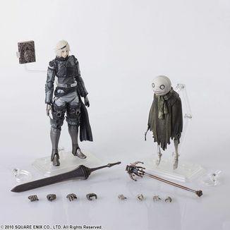 Nier & Emil Figure NieR RepliCant Bring Arts Pack