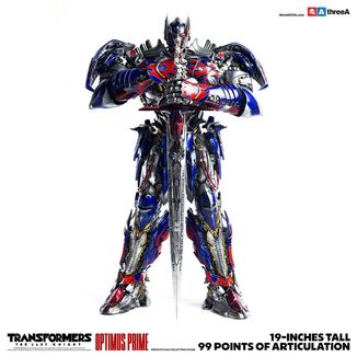 Optimus Prime Figure Transformers The Last Knight