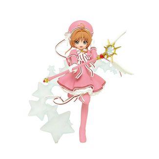 Figura Sakura in Pink Cardcaptor Sakura Clear Card