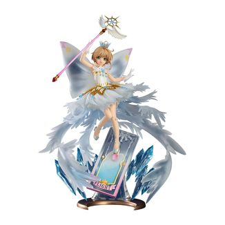 Figura Sakura Kinomoto Hello Brand New World Cardcaptor Sakura Clear Card