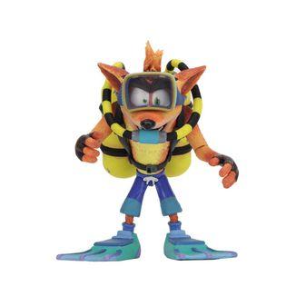Figura Scuba Crash Deluxe Crash Bandicoot