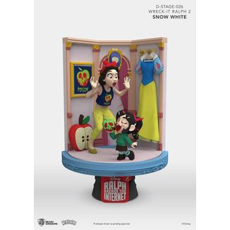 Figura Snow White & Vanellope Ralph Breaks the Internet D-Stage