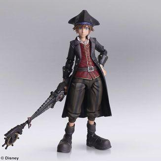 Sora Pirates of the Caribbean Figure Kingdom Hearts III Bring Arts