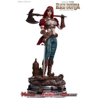 Figura Steampunk Red Sonja Deluxe Version Red Sonja