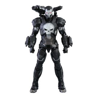 The Punisher War Machine Armor Figure Marvel Future Fight Video Game Masterpiece