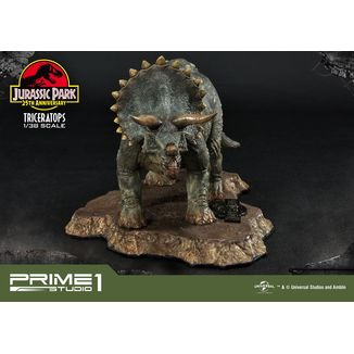 Triceratops Figure Jurassic Park Prime Collectibles