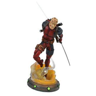 Figura Unmasked Deadpool Marvel Comics Marvel Gallery