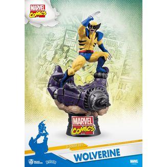 Figura Wolverine Marvel comics D-Stage