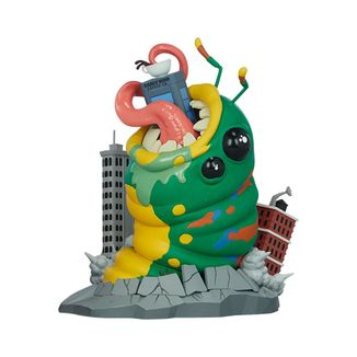 Wrath of Wormzilla Figure Unruly Kaiju Series