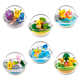 Pokémon Terrarium Collection 8 Gashapon (Complete Box)
