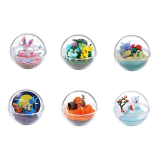Pokémon Terrarium Gashapon Four Seasons (Complete Box)