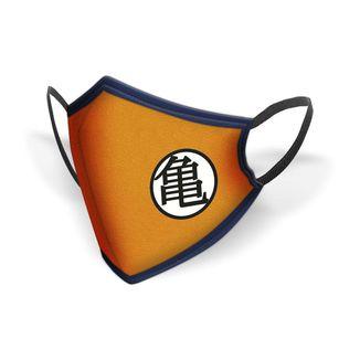 Kanji Master Roshi Kame Dragon Ball Z fabric mask