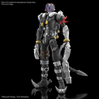 Beelzemon Model Kit Digimon Adventure Figure Rise Amplified