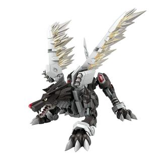 Black MetalGarurumon Model Kit Digimon Adventure Figure Rise Amplified