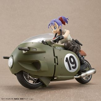 Bulma Variable No.19 Bike Model Kit Dragon Ball Figure Rise Mechanics