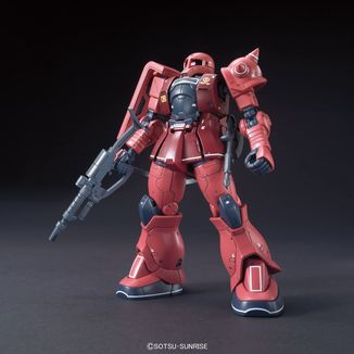 Char's Zaku II 1/144 HG Model Kit Gundam