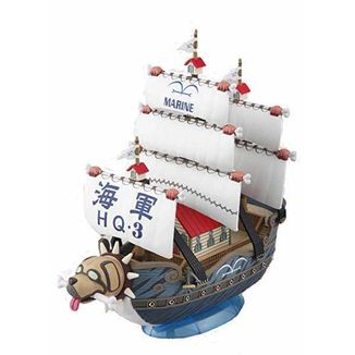 Garp's Warship One Piece Model Kit Grand Ship Collection