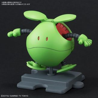 Model Kit Haropla Haro Basic Green Gundam