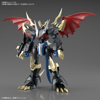 Imperialdramon Model Kit Digimon Adventure Figure Rise Amplified