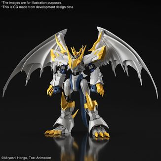 Imperialdramon Paladin Mode Model Kit Digimon Adventure 02 Figure Rise Amplified