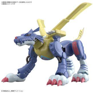 Metalgarurumon Anime Version Model Kit Digimon Adventure Figure Rise Standard