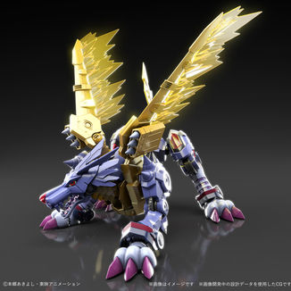 Model Kit MetalGarurumon Digimon Adventure Figure Rise