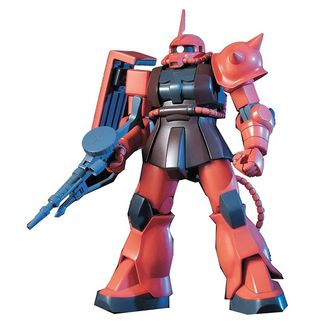 Model Kit MS-06S Zaku 2 1/144 HG Gundam