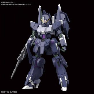 Silver Bullet Suppressor 1/144 HG Model Kit  Gundam