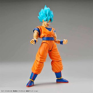 Son Goku SSGSS Model Kit Dragon Ball Super Figure Rise