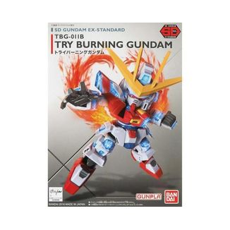Try Burning Gundam SD EX-Standard 011Model Kit Gundam