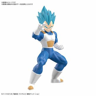 Model Kit Vegeta SSGSS Dragon Ball Super Entry Grade
