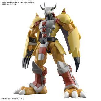 Wargreymon Anime Version Model Kit Digimon Adventure Figure Rise Standard