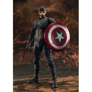 SH Figuarts Captain America Final Battle Avengers Endgame