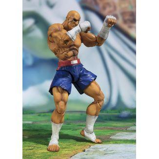 SH Figuarts Sagat Street Fighter V