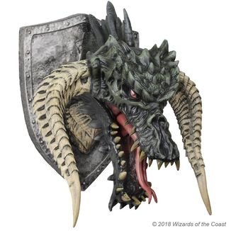 Black Dragon Trophee Dungeons & Dragons